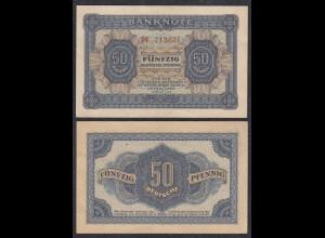 DDR 50 Pfennig 1948 Ro 339b VF/XF (3/2) Serie DV (28082