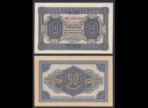 DDR 50 Pfennig 1948 Ro 339b VF+ (3+) Serie EH (28083