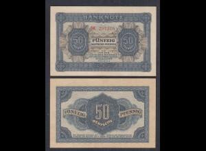 DDR 50 Pfennig 1948 Ro 339b VF+ (3+) Serie DK (28084