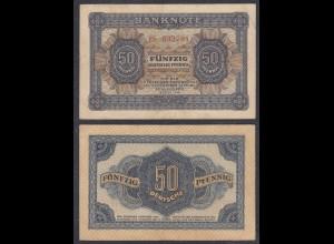 DDR 50 Pfennig 1948 Ro 339b VF (3) Serie ES (28085
