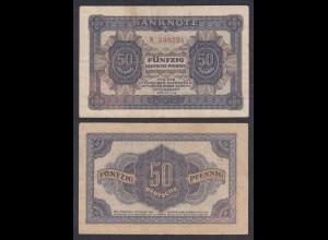 DDR 50 Pfennig 1948 Ro 339a F+ (4+) Serie N (28086