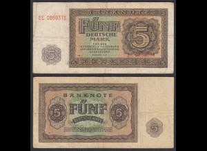 DDR 5 Mark 1948/52 Ro 342d F (4) Serie EL (28092