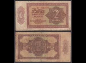 DDR 2 Mark 1948/51 Ro 341e VG (5) Serie AF (28187