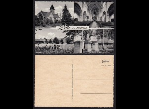 AK Lette bei Coesfeld Vierfachildkarte (16706