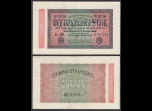 20.000 20000 Mark 1923 Ro 84c - FZ DB - BZ P - VF (3) (28352