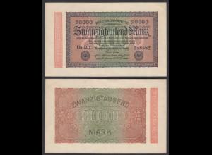 100.000 100000 Mark 1923 Ro 90b Pick 91 - FZ V - BZ 59 - F (4) (28355