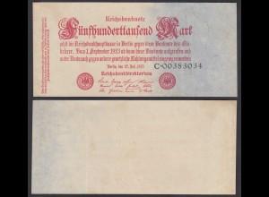 500-tausend Mark 1923 Ro 91a Pick 92 Serie C XF (2) (28367