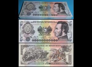 HONDURAS 5 LEMPIRAS 2006 Pick 91a UNC (1) Bundle á 100 Stück Dealer Lot (90067