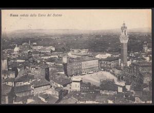 AK Italy - Italien 1931 Siena veduta dalla Torre del Duomo (28420