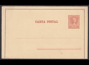 Argentinien - Argentina 1891 alte Privat-Ganzsache ungebraucht 2 Centavos (28437
