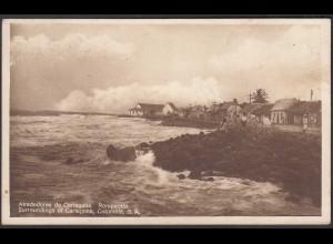 KOLUMBIEN - COLOMBIA 1934 AK Alrededores de Carttanena Rompeolas (28447