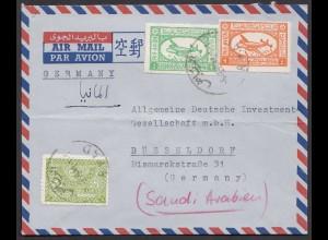 Saudi ARABIEN - Saudi Arabia Alter Brief von RYAD nach Düsseldorf (28448