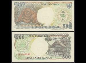 Indonesien - Indonesia - 500 Rupiah 1992/1997 Pick 128f UNC (1) (28503