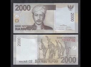 Indonesien - Indonesia - 2000 Rupiah 2009 Pick 148a UNC (1) (28504