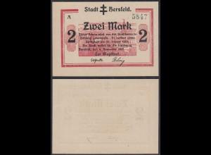 Hersfeld Stadt 5 Mark 1918 Magistrat Notgeld Hessen (28561
