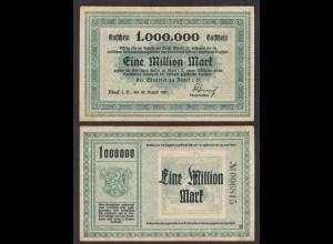 Adorf 1- Million Mark 1923 Stadtrat Gutschein Notgeld (28568