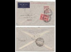 Australien-Griechenland-Deutschland 1936 MELBOURNE SHIP MAIL ROOM (28580