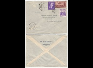 Ägypten - Egypt 1957 Brief von Alexandria nach Düsseldorf (28582