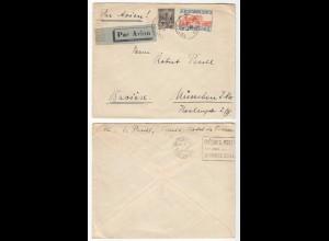Tunesien - Tunisia 1930 Brief über Marsaille nach München ( 28594