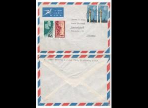 Südwestafrika SWA Brief cover 1971 Windhoek nach Düsseldorf (28602