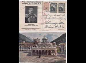 Künstler AK Willy Moralt Balkanansichten des Kolonialkriegerdank EV (28633