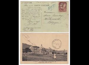 Haiti - AK 1923 aus Port-au-Prince Palais National nach Belgien (28652