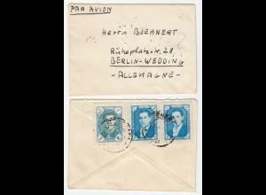 Persien - Iran small Letter from Teheran to Berlin Schah Reza Pahlavi (28655