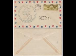 USA 1933 Erstflug LAS VEGAS - NEW MEXICO (28658
