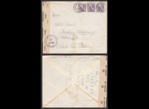 Schweden 1947 HJÄRTSÄTER nach Hamburg mit BRITISH CENSOSHIP 5799 (28715