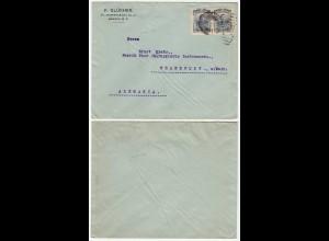 Mexiko - Mexico alter Bedarfsbrief F.Glükher nach Frankfurt (28628
