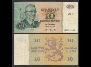 FINNLAND - FINLAND 10 MARKKA Litt. A 1980 PICK 112 F (4) (26826