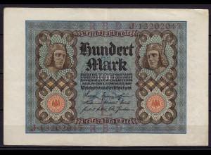 Reichsbanknote - 100 Mark 1920 UDR L Ro 67b Pick 69 VF (3) (CA830