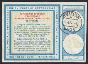 Deutschland International Antwortscheine 1974 IAS Nottuln 75 Pfennig (17450