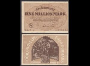 Hessen - Dillenburg 1-Million Mark 1923 Kreisnotgeld Reihe A Starnote (29022