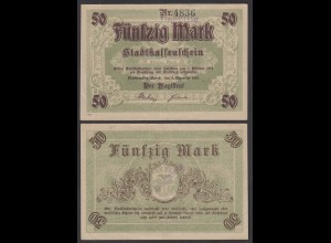 Brandenburg Fürstenwalde 50 Mark 1918 Stadtkasse Notgeld Emergency Money (29071