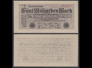 5 Milliarden Mark Banknotes 1923 Ro 120c Pick 123 VF+ (3+) (29089