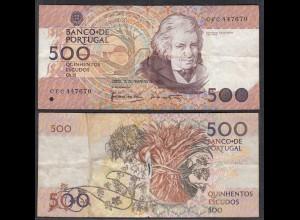Portugal - 500 Escudos Banknote 13.2.1992 Pick 180d G (6) (29100