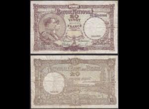Belgien - Belgium 20 Francs 30-11-1944 Pick 111 - Deutsche Besatzung (13869