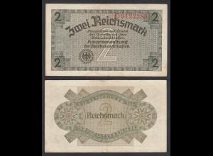 2 RM Reichskreditkasse 1939/44 Ro 552a VF (3) (29184