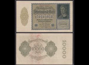 10.000 10000 Mark 1922 Ro 69d Pick 72 VF (3) FZ: B BZ: 10 7-stellig (29218