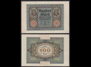 Reichsbanknote - 100 Mark 1920 UDR L Ro 67b Pick 69 VF+ (3+) (29366