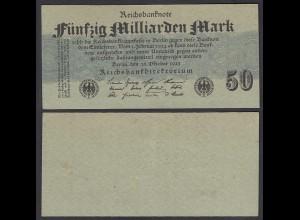 50-Milliarden Mark 1923 Ro 122a Pick 125 XF (2) (29416