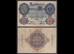 20 Mark 1908 Ro 31 Pick 31 UDR: K Serie: C - F (4) (29421