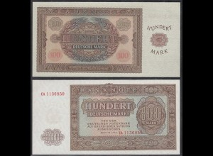 DDR 100 Mark Banknote 1955 Ro 353a Pick 21 UNC (1) Serie EA (29430