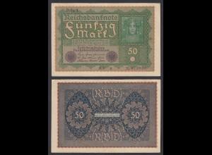 Ro 62a 50 Mark Reichsbanknote1919 Pick 66 Reihe 1 - MF a VF (3) (29512