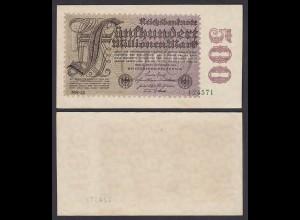 Ro 109f 500 Millionen Mark 1923 6-st. Pick 110e FZ: NN BZ: 22 - XF (2) (29527