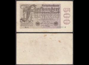 Ro 109f 500 Millionen Mark 1923 6-st. Pick 110e FZ: BK BZ: 16 - F (4) Starnote