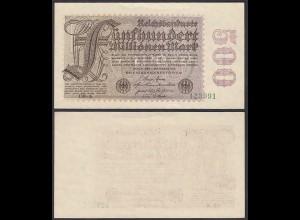 Ro 109f 500 Millionen Mark 1923 6-st. Pick 110e FZ: DB BZ: 6 - aUNC (1-) (29529