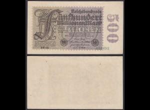 Ro 109f 500 Millionen Mark 1923 6-st. Pick 110e FZ: BW BZ: 18 - XF (2) (29530
