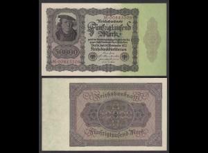 Ro 78 - 50.000 50000 Mark 1922 Pick 80 Serie M aUNC (1-) (29544